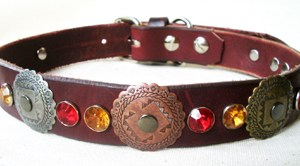 CCC Western Leather Dog Collars - Hidalgo SW