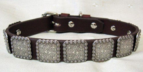 Leather Dog Collars at CCC Berry Bow Wow 1.0