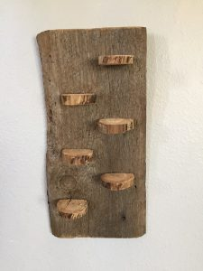 Rustic miniature shelf