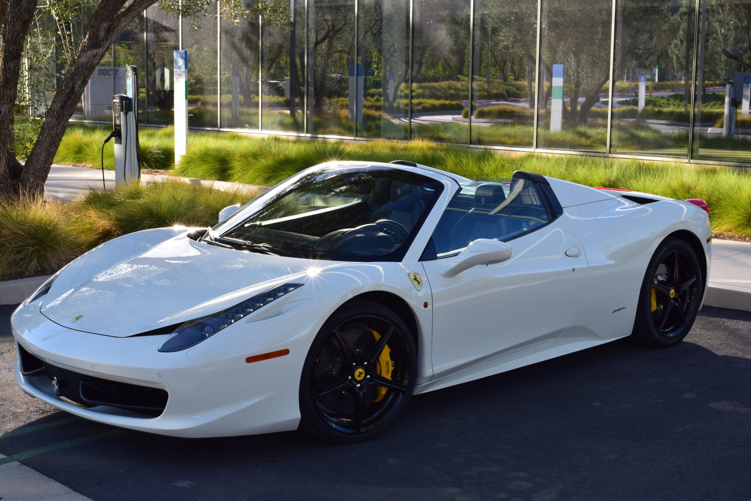 2015 Ferrari 458 Spider Sold