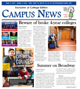 CLICK to read this whole issue! Campus News hits 37 community colleges!
