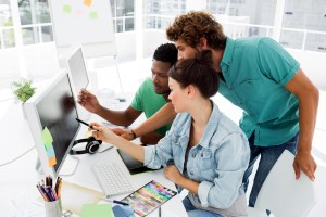 canstockphoto students on computer graphic design