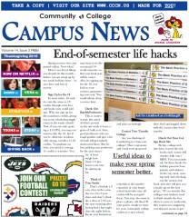 Campus News paper