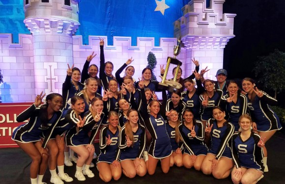 Suffolk cheer squad places at national competition