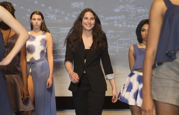 Nassau Community College Annual Fashion Show; highlighting the design collections of the senior fashion design students