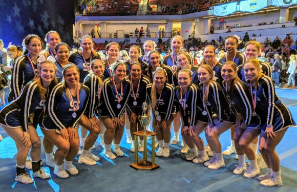 Suffolk cheerleaders place No. 2 nationally