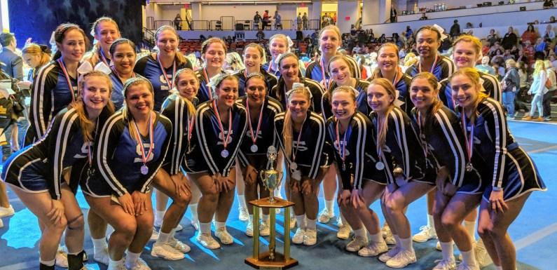 Suffolk cheerleaders place No. 2 nationally