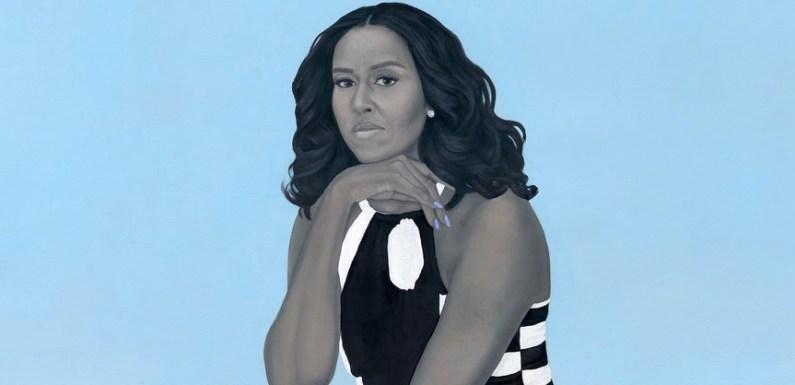I like the Obama portraits