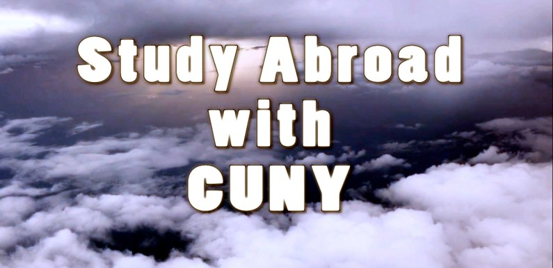 2-year college students can study abroad with CUNY