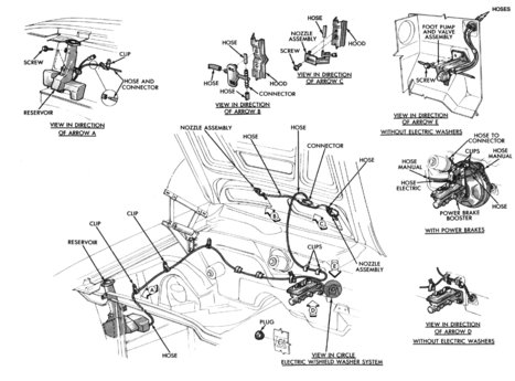 1970 Mopar Steering Column Diagram, 1970, Free Engine