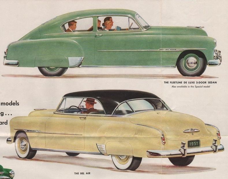 1951 Chevy Paint Colors