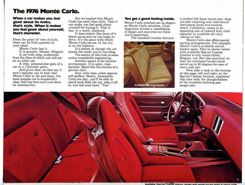 1976 Chevrolet Monte Carlo My Classic Garage