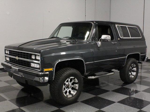 Gray 1989 Chevrolet Blazer For Sale  MCG Marketplace