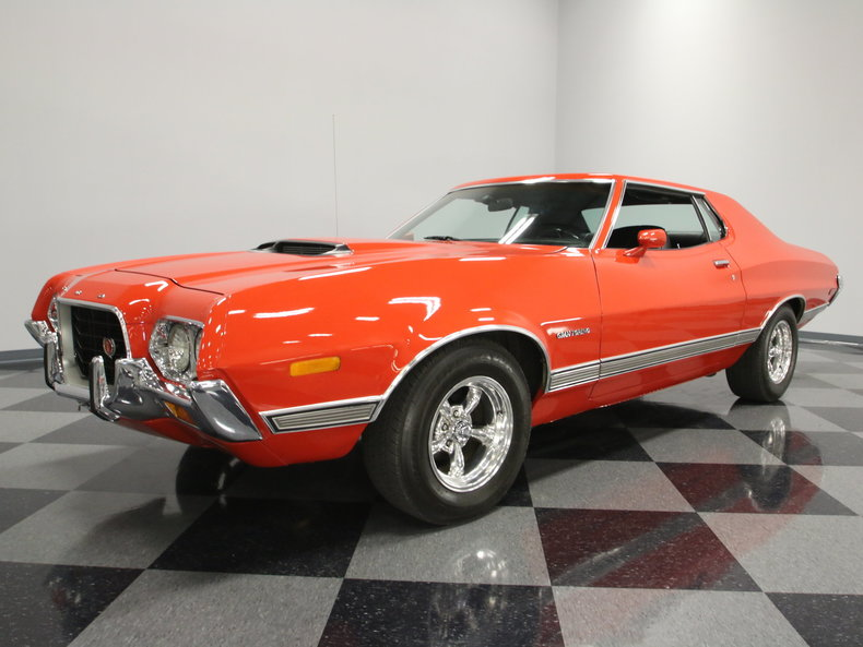 Red 1972 Ford Torino For Sale MCG Marketplace