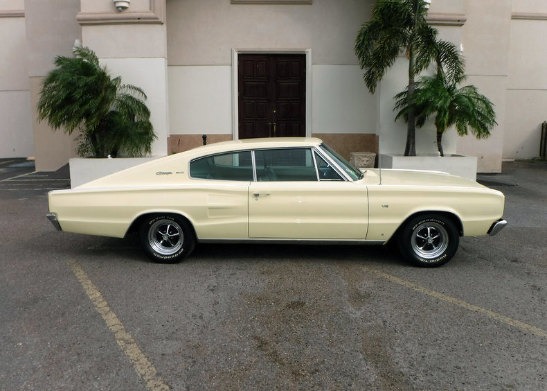 Yellow 1966 Dodge Charger 500 For Sale  MCG Marketplace