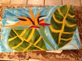 Mixed-Media Glass 12.5 x 1 inches Retail: $1,100.00 Starting Bid: $550.00 - Click to Purchase Tickets