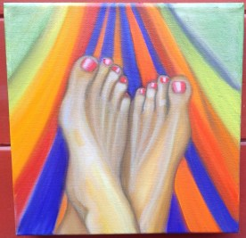 Oil on Canvas 12 x 12 inches Retail: $500.00 Starting Bid: $250.00 - Click to Purchase Tickets
