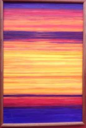 Oil on Canvas 37.5 x 25.5 inches Retail: $900.00 Starting Bid: $600.00 - Click to Purchase Tickets