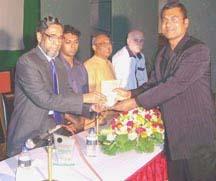 Media Personality G M Mourtoza Awarded