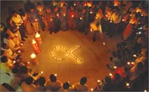 Int'l AIDS Candlelight Memorial Day observed at National Level