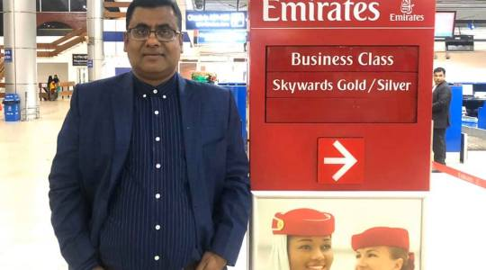 Director of CCD Bangladesh G M Mourtoza is now on the way to Sweden