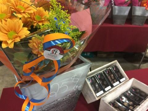 Kiosque de la CCES, fleurs et chocolats de Fleurs et Trouvailles de Warwick