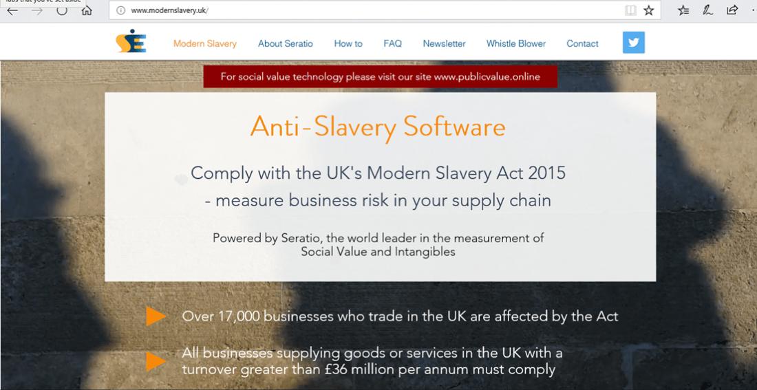 mordern slavery uk