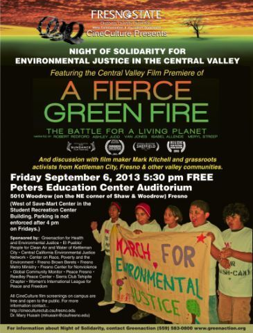 A Fierce Green Fire--Night of Solidarity for Environmental Justice