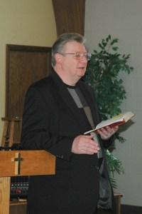 Pastor Wayne Sanders