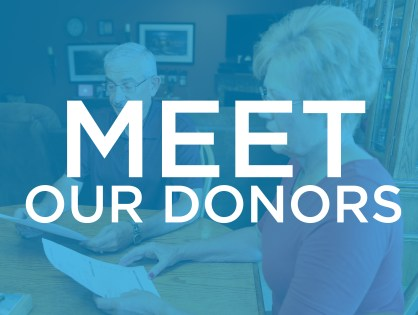 Meet Our Donors - Mary Bierschbach