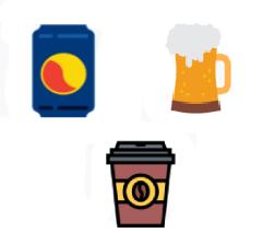 icône des boissons