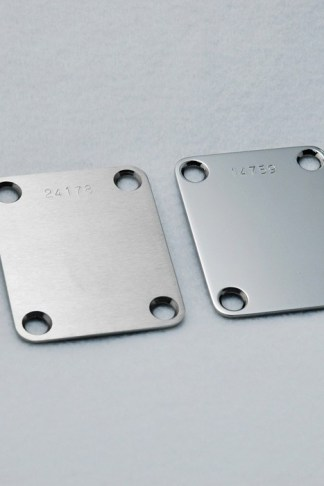 Callaham Stainless Steel Neck Plate
