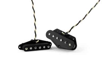 Lindy Fralin SP42 Steel Poled Replacement Pickup Set for Tele