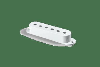 White Pickup Cover Strat