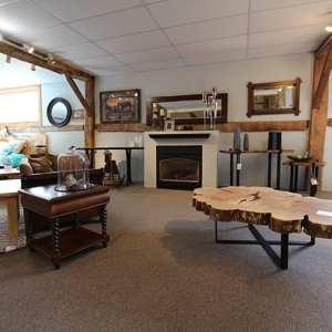 Live Edge Furniture & Fireplace