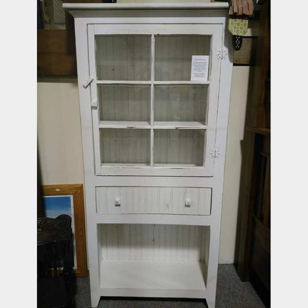 Antique Window Cabinet