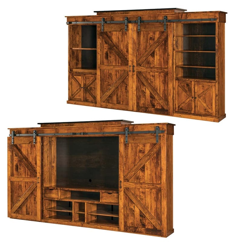 Teton wall unit