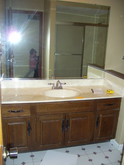 Sink  Vanity Updating  Chicly Cheap Home Decor