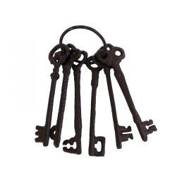 Antique Broze Skeleton Key Set