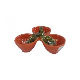 Ceramic Nut Bowl Pumpkin