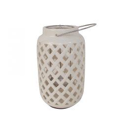 White Ceramic Latern