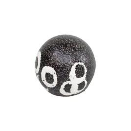 Black and White Stonewear Ball