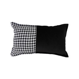 Houndstooth Pattern Pillow (small)