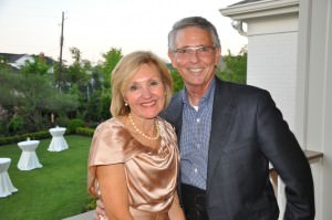 John Maxwell, pictured with his wife Alice, retired from the College in April after 25 years with the University.