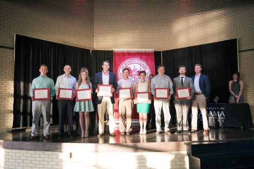 Rural Medical Scholars were recognized