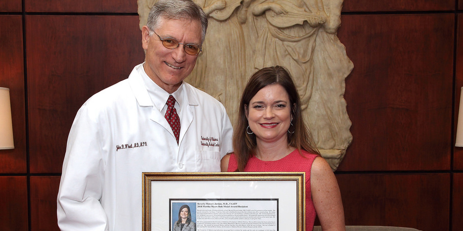 Residency Alumna Receives Prestigious School of Medicine Award ...