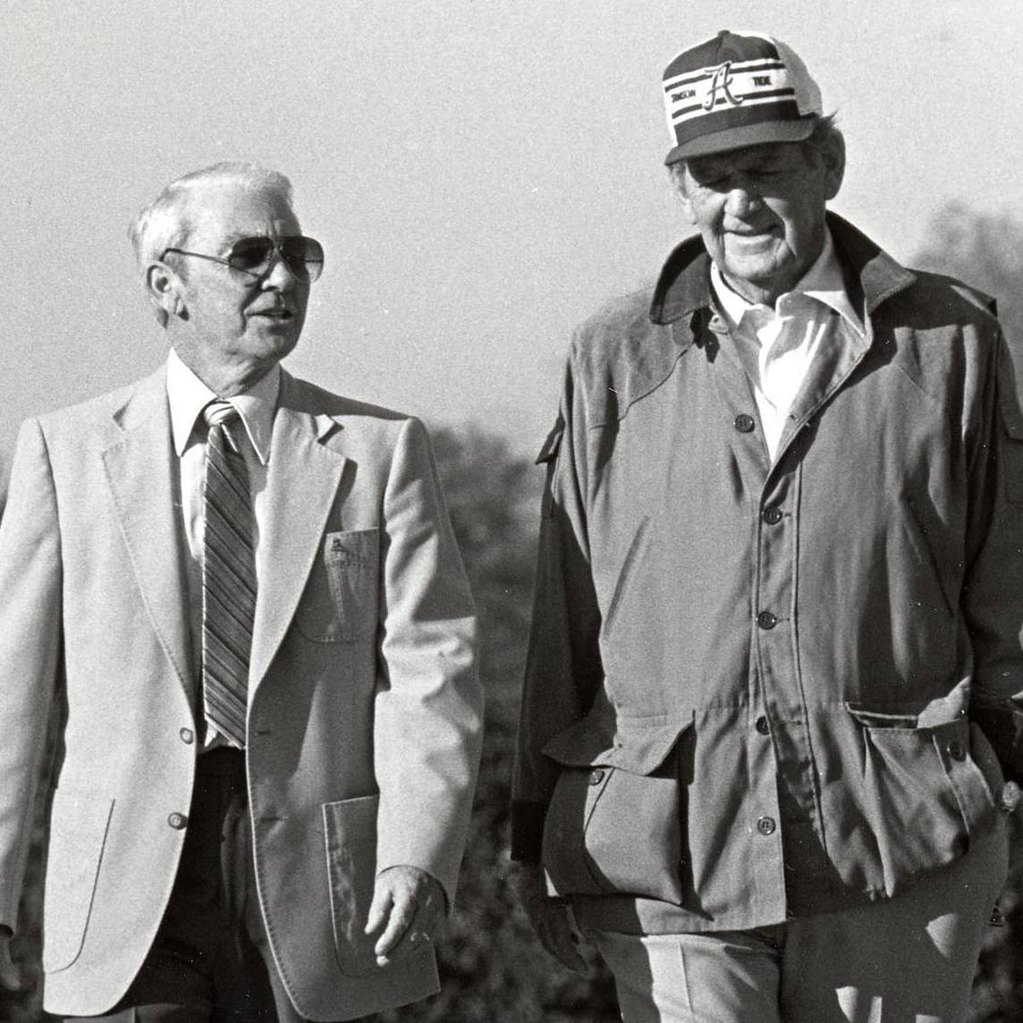 Bear Bryant and Dr. DeShazo