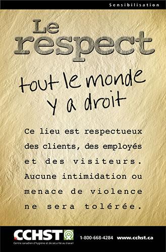 Comment Se Faire Respecter Au Travail : comment, faire, respecter, travail, CCHST:, Respect, Monde, Droit
