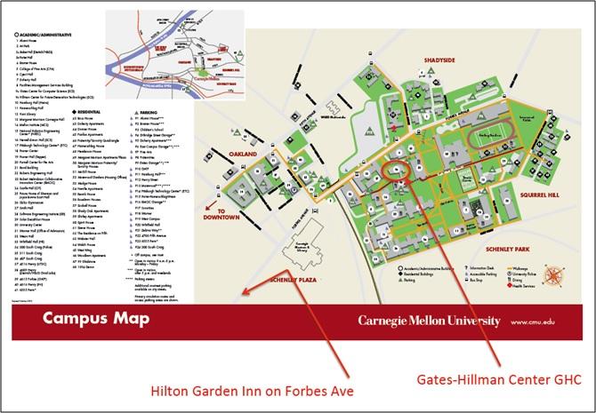 road map of purdue campus