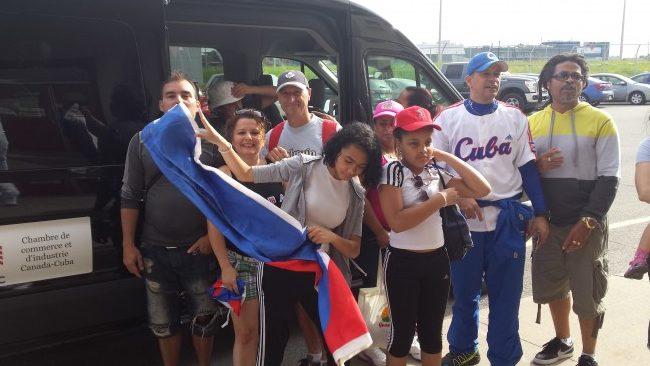 2017-06-10 Match de baseball : Cuba – Aigles de Trois-Rivières